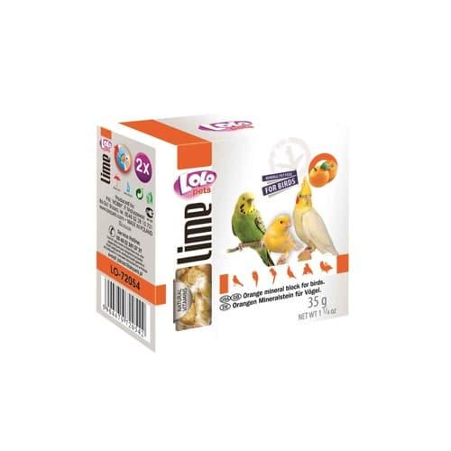 Мел для птиц апельсиновый Лоло петс (Lolo pets)