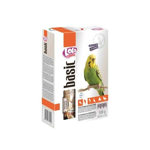 Корм для волнистых попугаев Лоло петс базовый (Lolo pets)