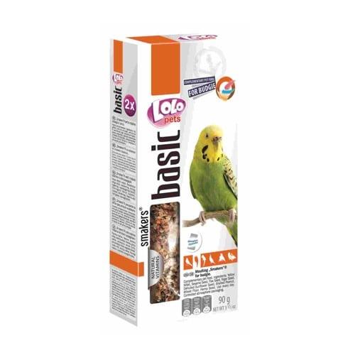 Колосок-лакомство для волнистых попугаев в период линьки Лоло петс (Lolo pets Moulting Smakers)
