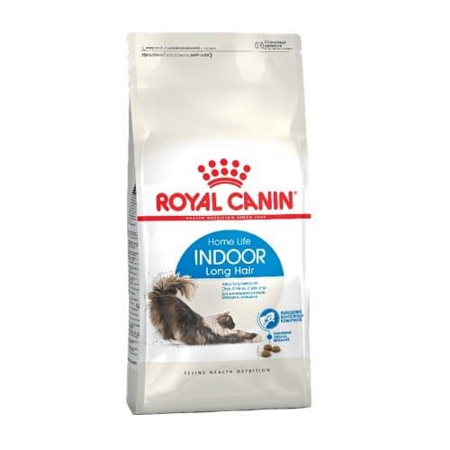 Сухой корм Роял Канин Индор Лонг Хэйр (Royal Canin Indoor Long Hair) для котов, на развес от 1 кг