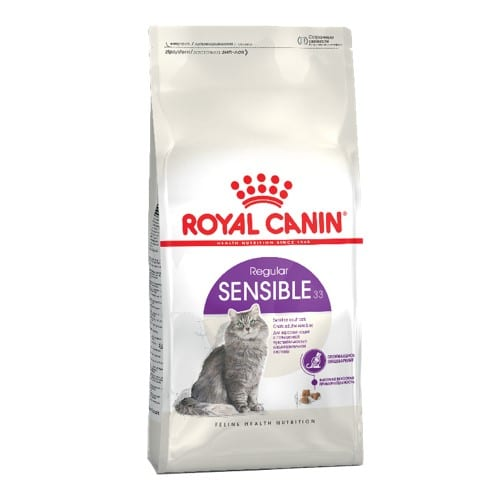 Сухой корм Роял Канин Сенсибл 33 (Royal Canin Sensible 33) для котов, на развес от 1 кг