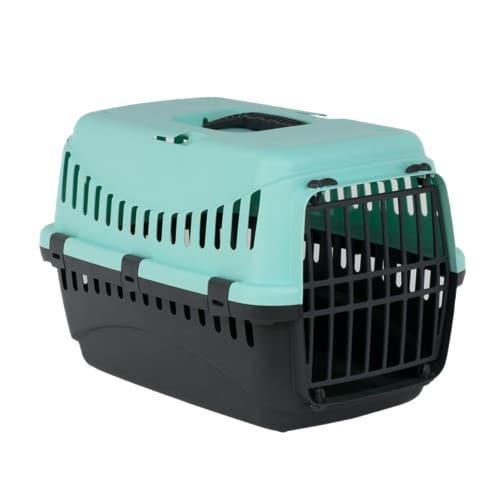 Переноска Бергамо Гипси 1 Смол Блу (Bergamo GIPSY 1 Small Blue) для собак и кошек, пластиковая дверь