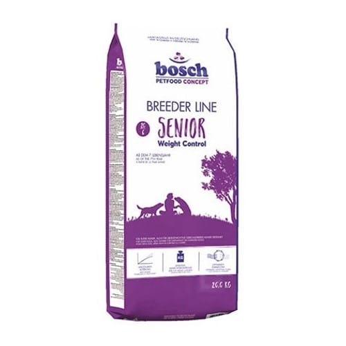 Сухой корм Бош Бридер Сеньор Лайт (Bosch Breeder Senior Light) для пожилых, кастрированных и склонных к полноте собак