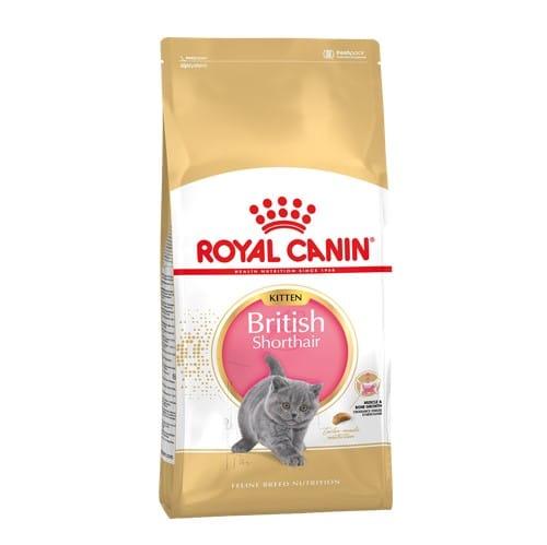 Сухой корм Роял Канин Киттен Бритиш Шортхэйр (Royal Canin British Shorthair Kitten) для котят до 12 месяцев, на развес от 1 кг