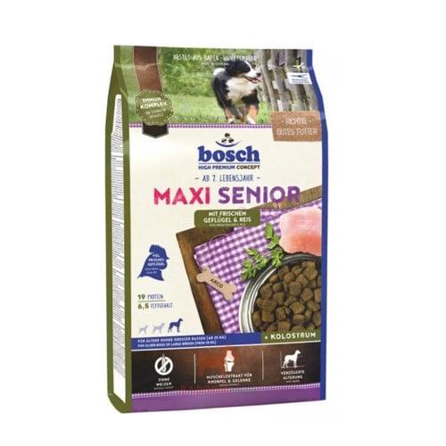 Сухой корм Бош Макси Сеньор (Bosch Maxi Senior) для стареющих собак крупных пород