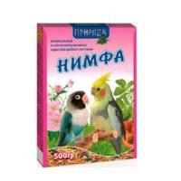 Корм для средних попугаев Нимфа, 500 гр