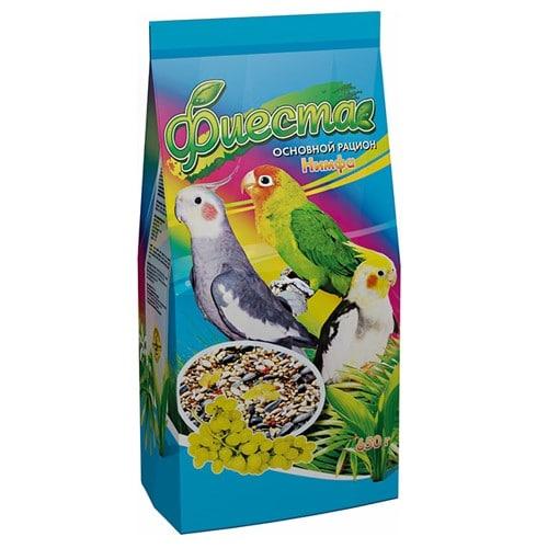 Корм для средних попугаев Фиеста Нимфа, 650 гр