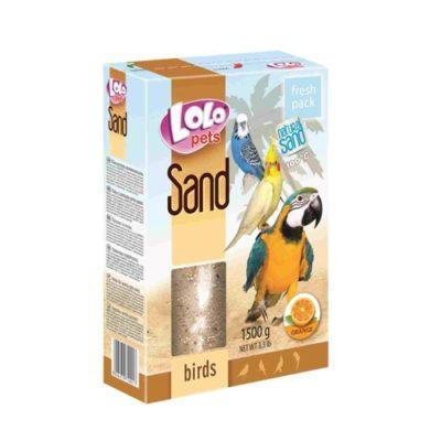 Песок для птиц апельсиновый Лоло петс (Lolo pets)