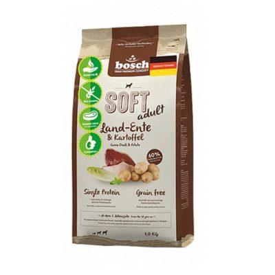 Полувлажный корм Бош Софт (Bosch Soft) для собак, с уткой и картофелем 2,5кг