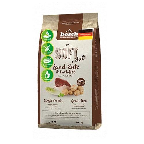 Полувлажный корм Бош Софт (Bosch Soft) для собак, с уткой и картофелем