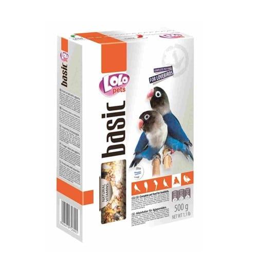 Корм для неразлучников Лоло петс (Lolo pets for lovebirds)