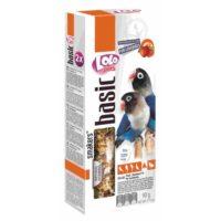 Колосок-лакомство для неразлучников Лоло петс (Lolo pets for lovebirds) с фруктами