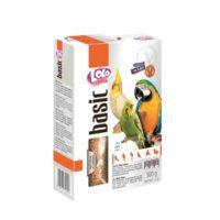 Колосок-лакомство для больших попугаев Лоло петс (Lolo pets food big parrots) с фруктами и орехами