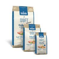 Полувлажный корм Бош Софт (Bosch Soft) для собак, с курицей и сладким картофелем