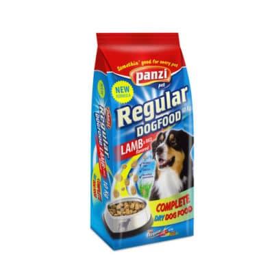 Сухой корм для собак Панзи Регуляр Эдалт (Panzi Regular Adult Lamb and Rice) ягненок и рис