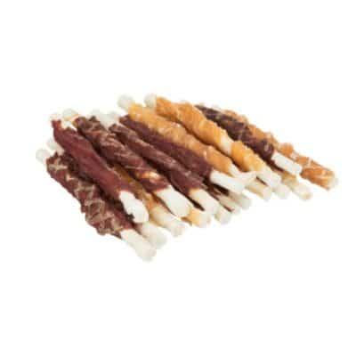 Ассорти жевательных палочек – лакомство для собак Трикси Дента Фан (Trixie Chewing Roll Mix), 10 см