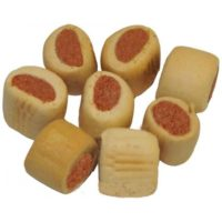 Лакомство-подушечки с лососем для собак Бош Мини Лосось (Bosch Mini Lachs), 1 кг