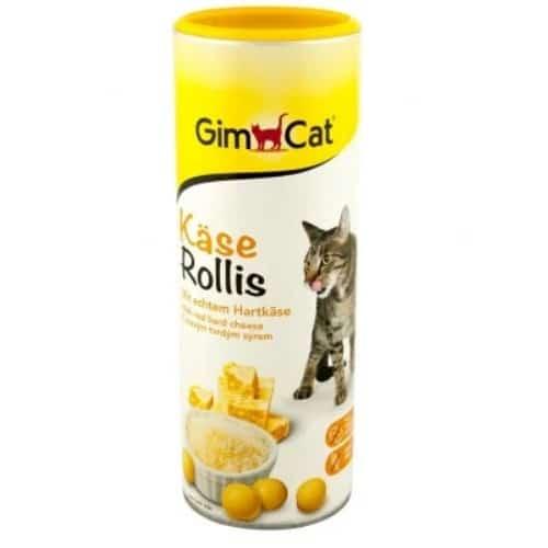 Сырные ролики (роллы), витамины-лакомства Джимкет (GimCat Kase Rollis), 425 гр
