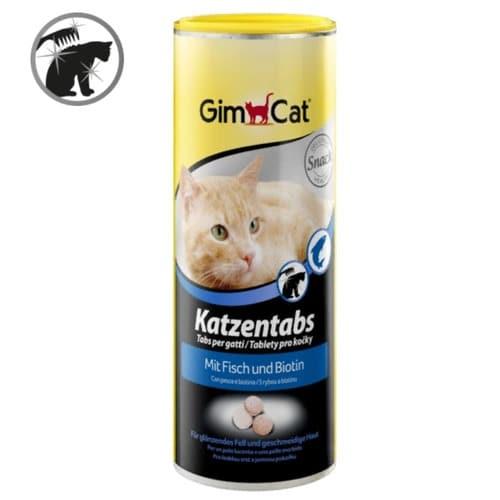 Таблетки-витамины, лакомства Джимкет (GimCat Katzentabs) рыба, 425 гр/710 шт