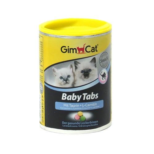 Витамины для котят Джимкет Бейби Табс (GimCat Baby Tabs), 85 гр