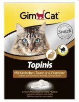 Мышки-витамины, лакомства Джимкет (GimCat Topinis) кролик, 220 гр/180 шт