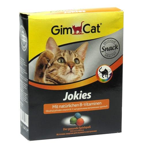 Витамины-шарики для котов Джимкет Джокис (Gimpet Jokies), 520 гр