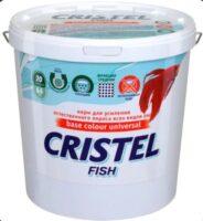 Пластинчатый корм для всех видов рыб для усиления окраса Кристель (Cristel Base colour universal), 1 л
