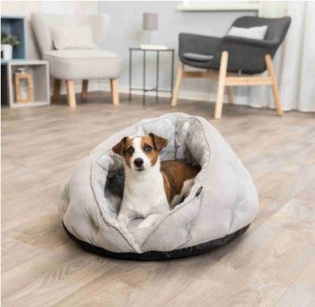Лежак, меховая пещера для собак/кошек Трикси TX- 36855 (Trixie Feather Cuddly Cave) 50*45 см 82159