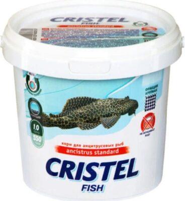 Корм для анцитрусовых рыб Кристель (Cristel Ancistrus Standard), 1 л