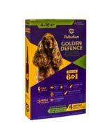 Капли для собак на холку от паразитов Палладиум (Palladium Golden Defence), вес от 4 до 10 кг