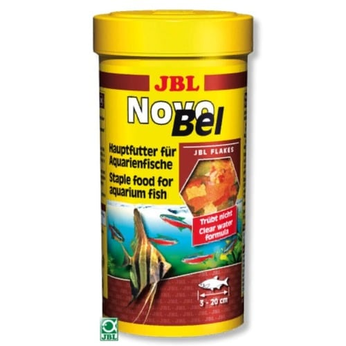 Пластинчатый корм для аквариумных рыб JBL NovoBel (ЖБЛ Новобел), 250 мл