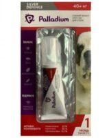 Капли для собак на холку от паразитов Палладиум (Palladium Silver Defence), вес от 40 до 60 кг
