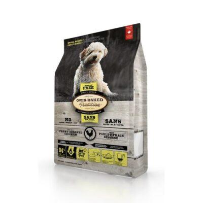 Беззерновой сухой корм для собак малых пород Овен Бакед (Oven-Baked Tradition), со свежим мясом курицы