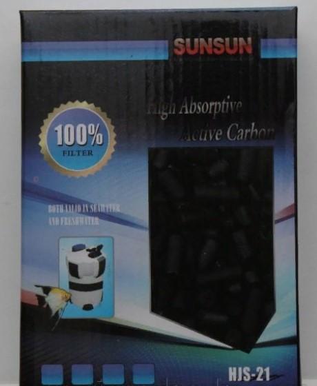 Фильтрующий элемент, крупный активированный уголь в гранулах HJS-21 СанСан (SunSun)