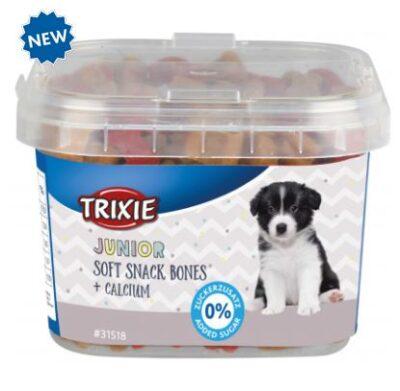 Витаминизированное Лакомства для щенков с кальцием Junior Soft Snack Bones 140г TX-31518