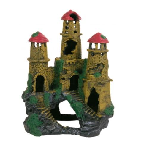 Грот для аквариума, большой дворец (замок) Трикси TX-8964 (Trixie), 22 см
