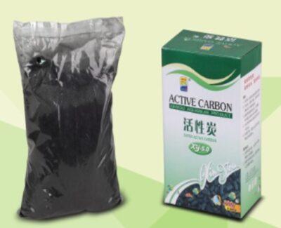 Активированный уголь для аквариума (фильтрующий материал) XY-AC-300, 300 гр