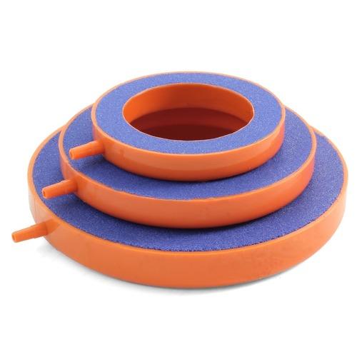 Распылитель керамический круглый для аквариума, с пластиковым блоком