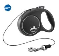Поводок-рулетка Флекси Блек Дизайн (BLACK DESIGN Cord Leash) TX-12241, 3 м/8 кг