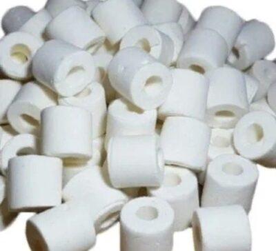 Керамические цилиндры XY-CR-500, фильтрующий материал для аквариума