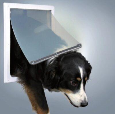 Врезная дверь для кошки/собаки большого размера Трикси TX-3879 (Trixie)