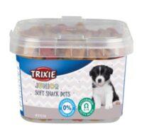 Ласощі для цуценят з куркою і лососем Тріксі ТХ-31519 (Trixie Junior Soft Snack Dots), 140 г
