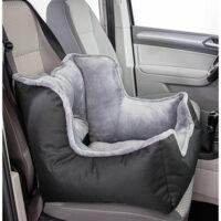 Мягкое место, лежанка в автомобиль для собаки, автокресло Трикси ТХ-13179 (Trixie), 50х40х50 см черно/серый